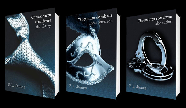 la trilogia 50 sombras de grey de e l james