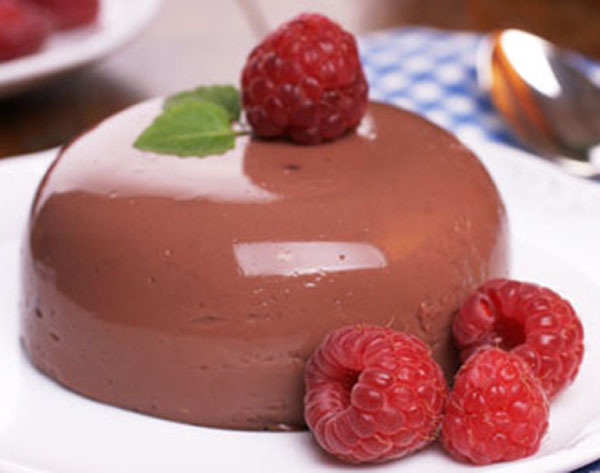 Chocolate Blancmange Recipes — Dishmaps