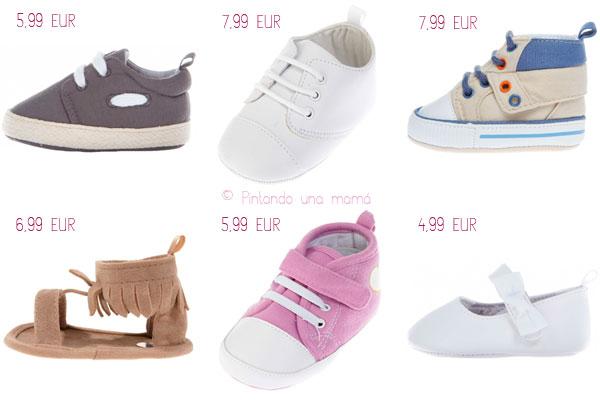 eb7525a3c1720 Zapatos para Bebé a Precios Económicos - Pintando una mamá ...