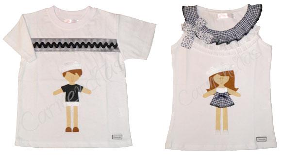Camiseta_Marine_y_Neno_Carmencitas_Camisetas_PintandoUnaMama
