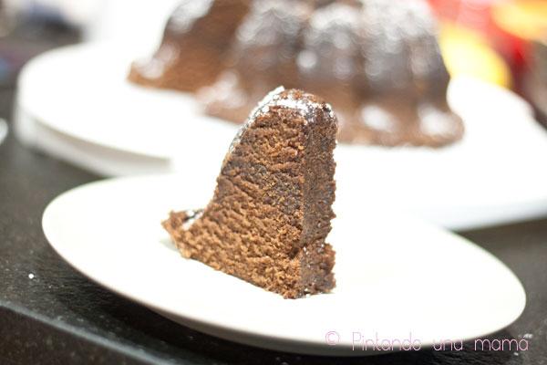 Bizcocho para niños de Chocolate y Petit Nesquik en Microondas