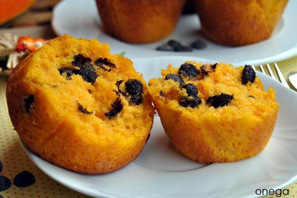 magdalenas_exquisitas_muffins_bizcocho_de_calabaza_y_chocolate_PintandoUnaMama