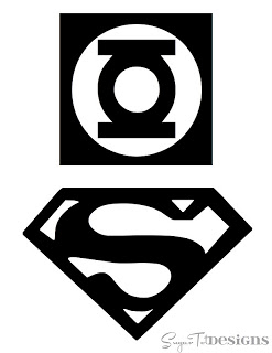 Superman & Green Lantern Logo