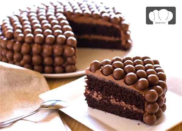 Tarta_de_chocolate_Maltesers_PintandoUnaMama