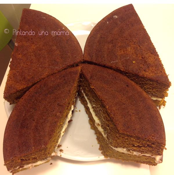 Tarta_Mariposa_Bizcocho_Carrot_Cake_PintandoUnaMama