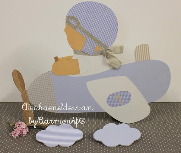 decoracion-infantil-personalizada-con-siluetas_ArribaeneldesvanbyCarmenhf_PintandoUnaMama