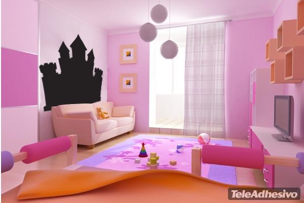 vinilos-infantiles-pizarra-castillo-de-princesas-teleadhesivo_PintandoUnaMama