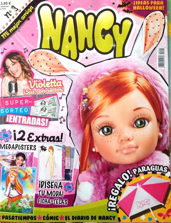 La_Revista_de_Nancy_Famosa_Portada_Numero_1_PintandoUnaMama