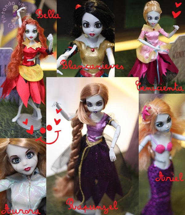 princesas-zombi-famosa_PintandoUnaMama