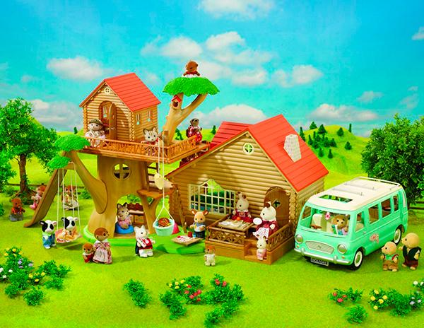 Casa_de_Campo_Sylvanian_Families_PintandoUnaMama