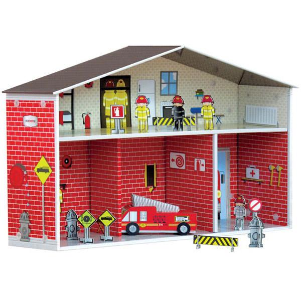 estacion-de-bomberos-PintandoUnaMama