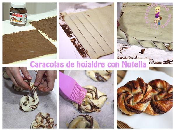 Caracolas-hojaldre-Nutella_PintandoUnaMama