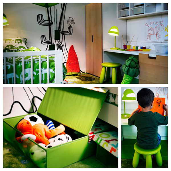 7 Habitaciones Ideales Para Ni Os De Ikea Pintando Una