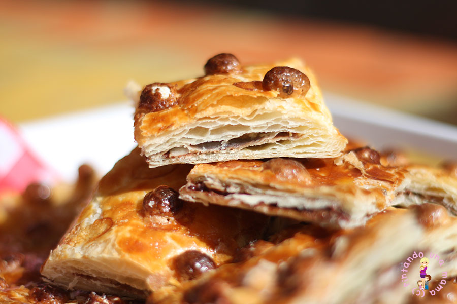 Tarta-hojaldre-nutella-almendras1_Pitandounamama