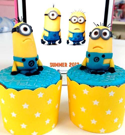 Cupcakes_Minions_PintandoUnaMama