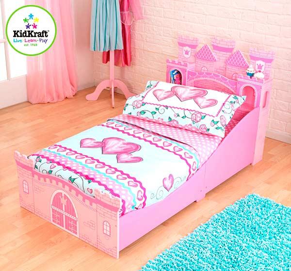 8 camas ideales habitaci n infantil ni as pintando una - Cama de princesa para nina ...