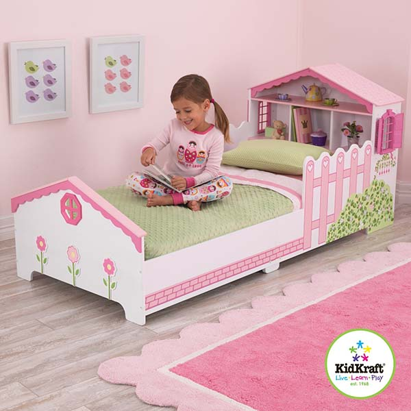 8 camas ideales habitaci n infantil ni as pintando una - Camas para ninas ...