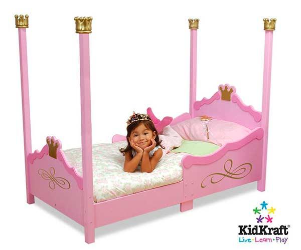 8 camas ideales habitaci n infantil ni as pintando una - Camas para nina ...