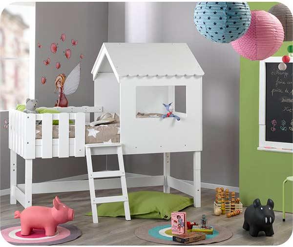 8 camas ideales habitaci n infantil ni as pintando una for Camas dobles para ninos baratas