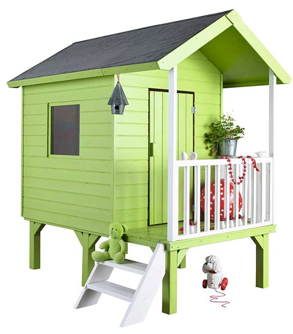 casas de madera para ni os pintando una mam pintando