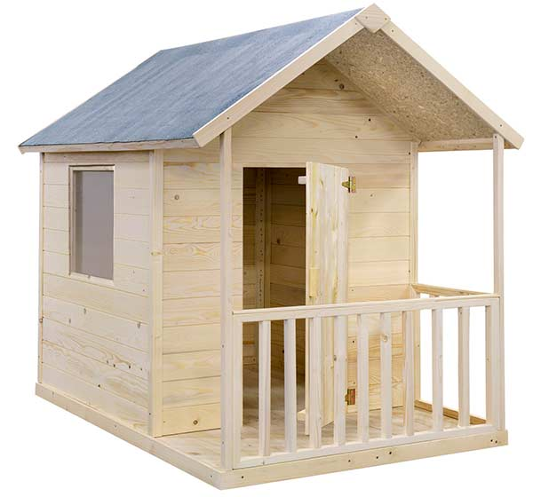 Casas de madera para ni os pintando una mam pintando for Casitas de madera para ninos economicas
