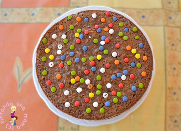 Nutella CheeseCake al Horno con Lacasitos