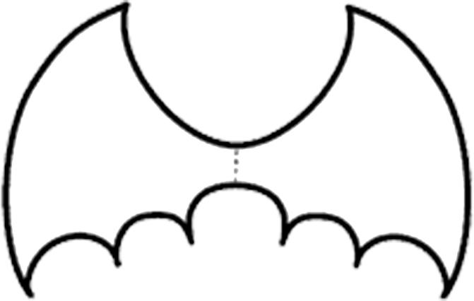 Plantilla murcielago imagui - Murcielagos halloween para imprimir ...