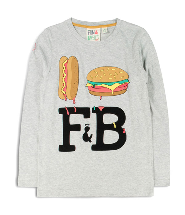 Camiseta_Hamburguesa_Hot_Dog_F&B