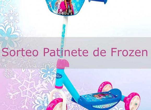 Patinete de Frozen de Smoby