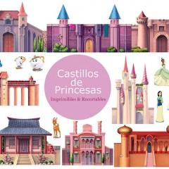 10 Castillos de Princesas Recortables para Imprimir y Jugar