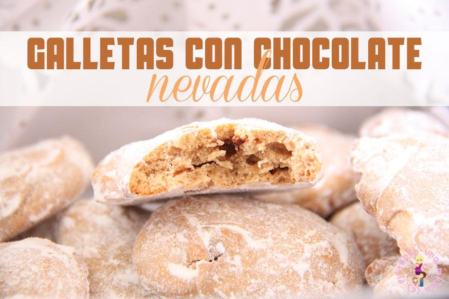 Galletas con Chocolate Nevadas
