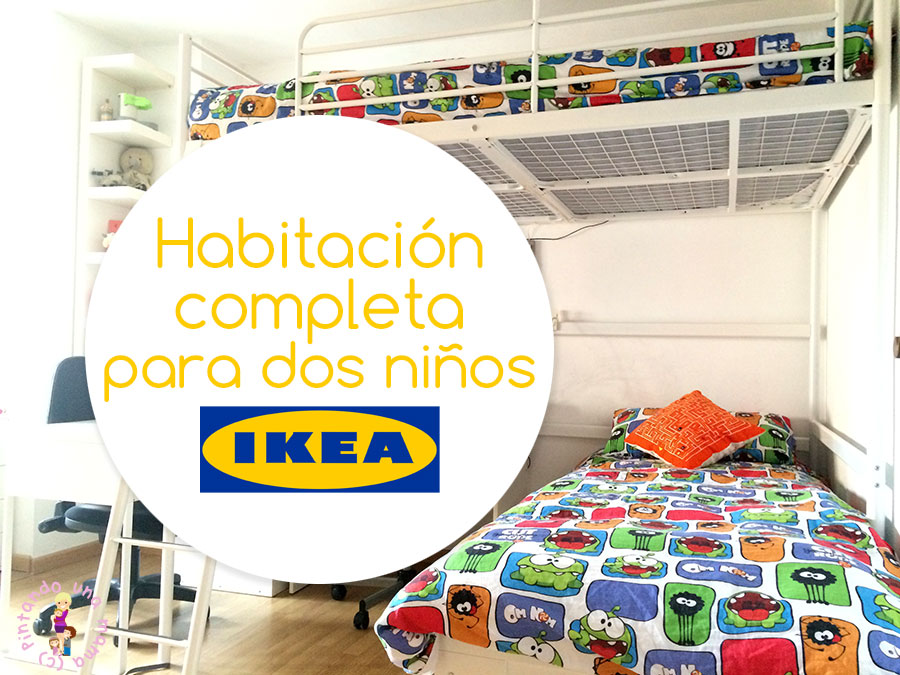 habitación para 2 niños habitaci n completa para dos ni os de ikea pintando una