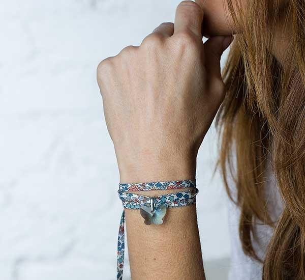 Pulseras_personalizadas_mariposa_azul