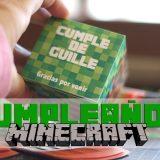 Cumpleaños Minecraft con Imprimibles Gratis
