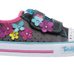 Zapatillas de luces Skechers para niñas