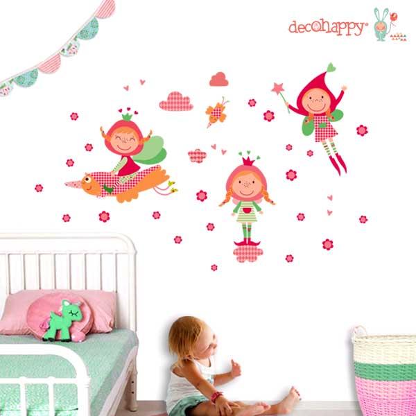 vinilos infantiles que visten muchsimo en los dormitorios de nuestros hijos tanto de pvc como de tela mirad qu preciosidad