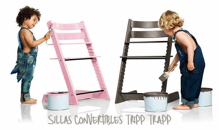 Silla convertible tripp trapp de stokke pintando una - Silla tripp trapp stokke ...