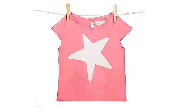 camiseta-nina-estrella