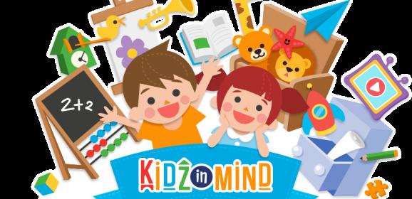 KidzInMind La Zona de Juegos Digital para Preescolares