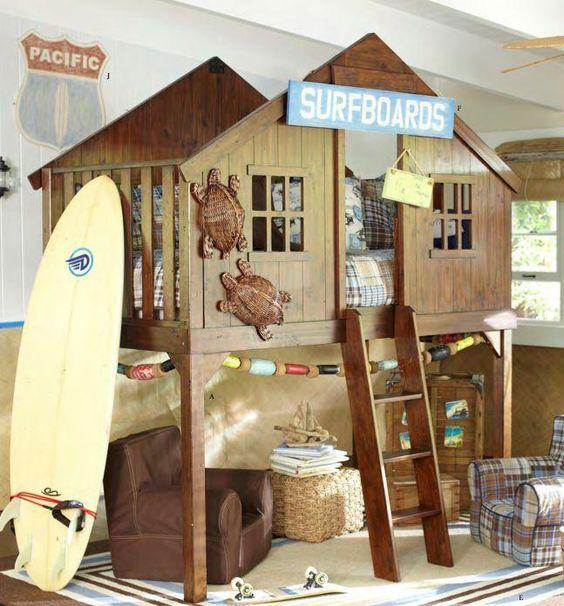 Casas cama para habitaciones infantiles pintando una - Camas casa para ninos ...
