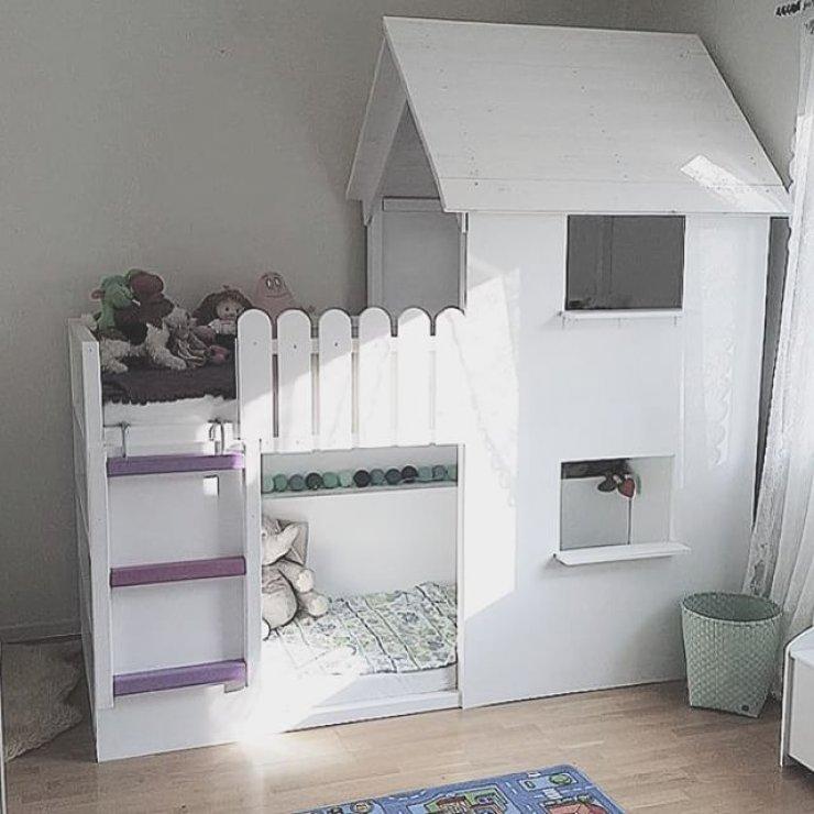 8b5c129d0a655 Casas Cama para Habitaciones Infantiles - Pintando una mamá ...