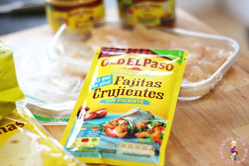 Fajitas de Pollo Crujiente Old El Paso