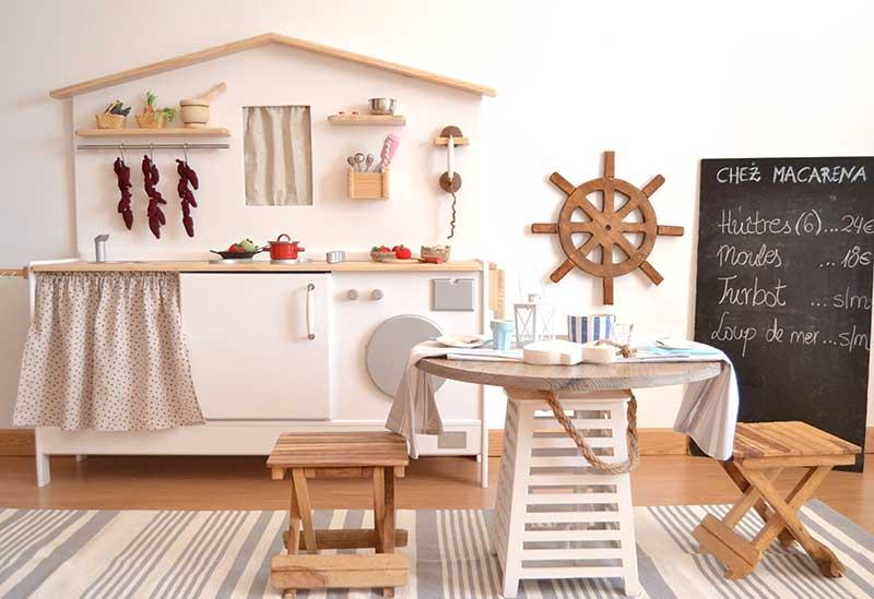 Cocinitas de madera macarena bilbao hechas a mano - Cocinitas de madera infantiles baratas ...