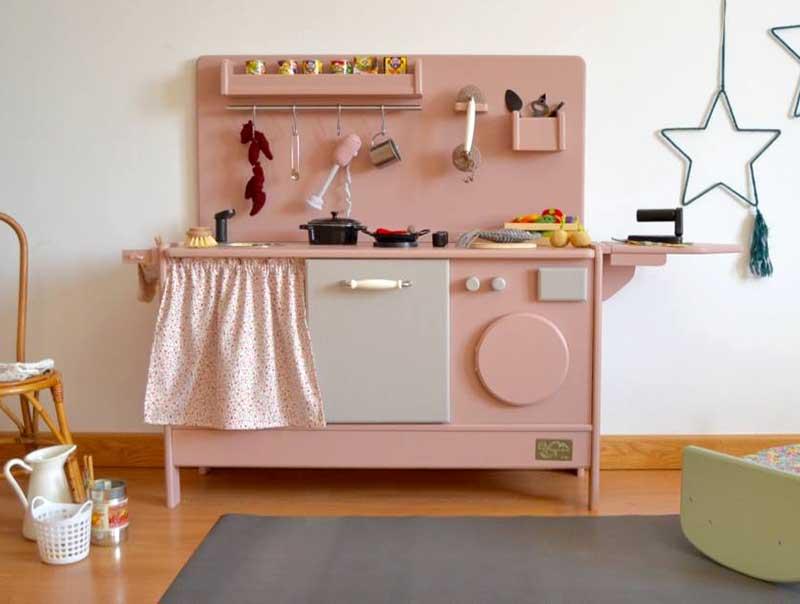 Cocinitas de madera hechas a mano fabulous cocina for Cocinitas de juguete segunda mano