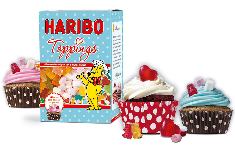 Haribo Toppings
