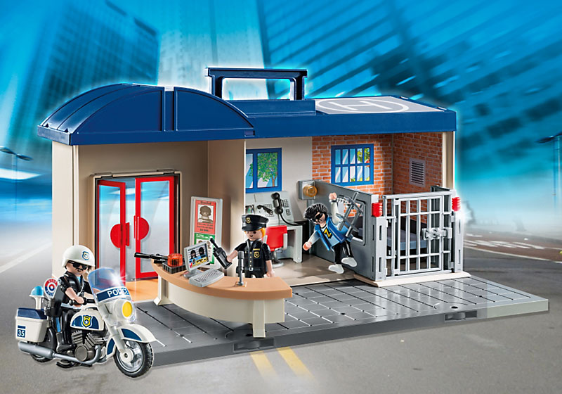 policía de Playmobil