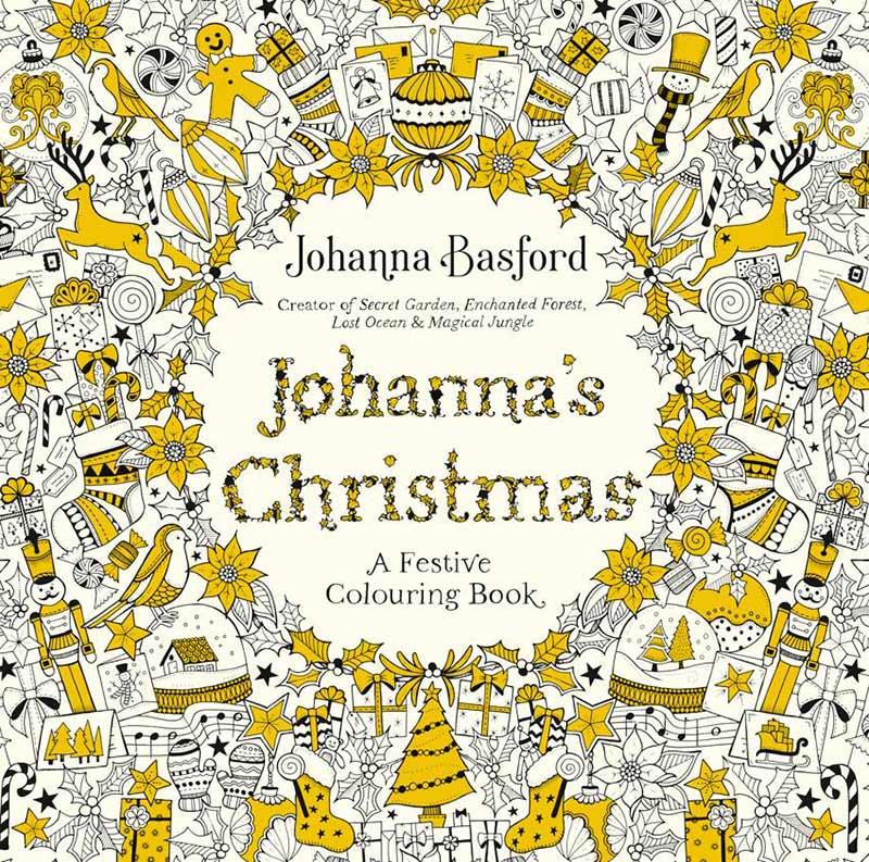 libros-para-colorear-para-adultos-la-navidad-de-johanna-basford
