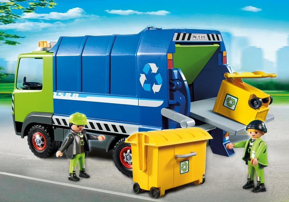 Playmobil reciclaje