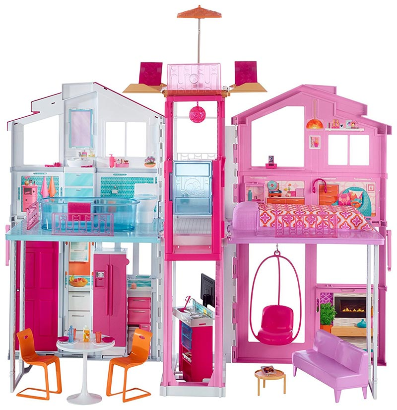 Nueva s per casa de barbie pintando una mam pintando - Casa de barbie con ascensor ...