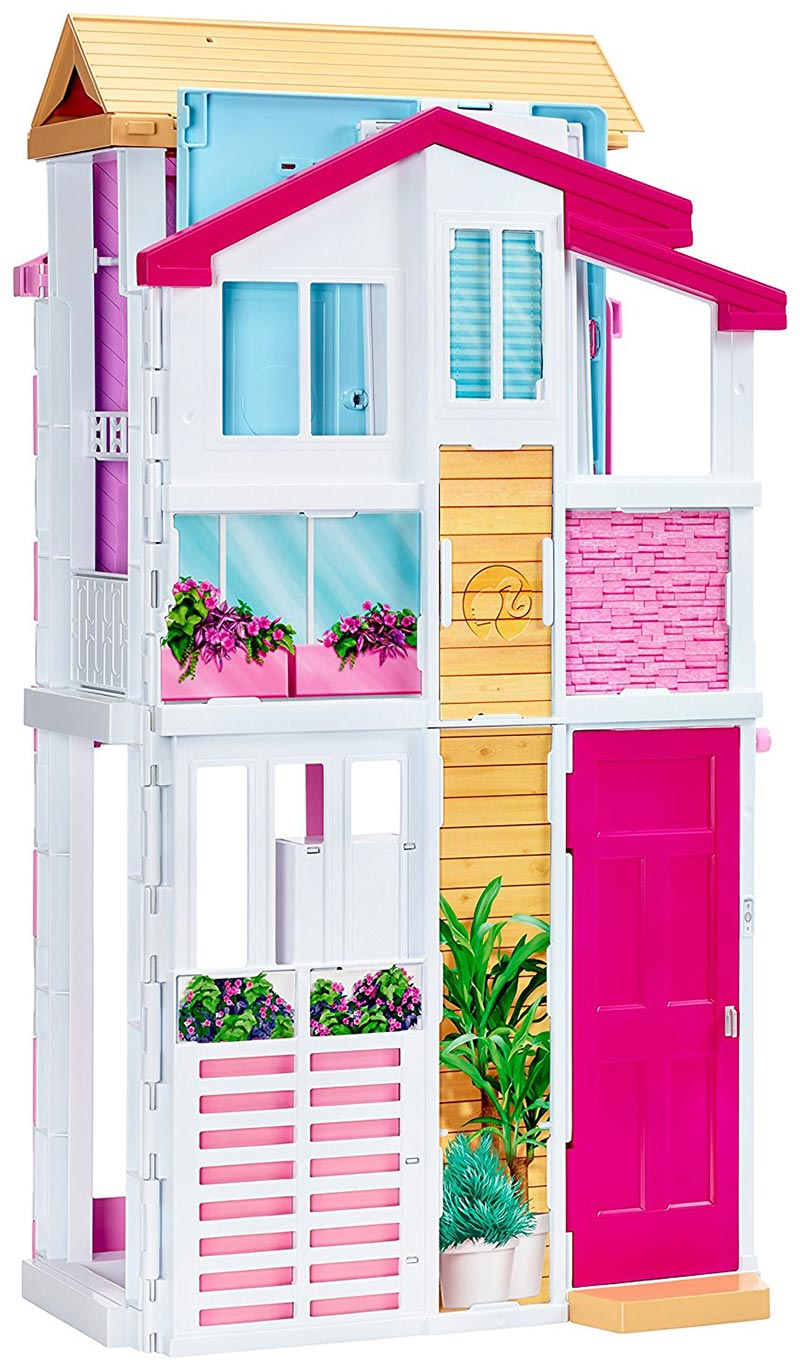 Nueva s per casa de barbie pintando una mam pintando for Casa barbie malibu